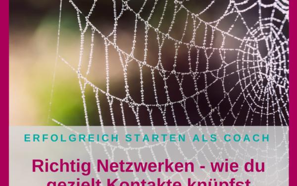 Richtig Netzwerken – knüpfe gezielt Kontakte