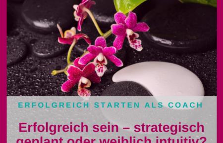 Erfolgreich sein – strategisch geplant oder weiblich intuitiv?