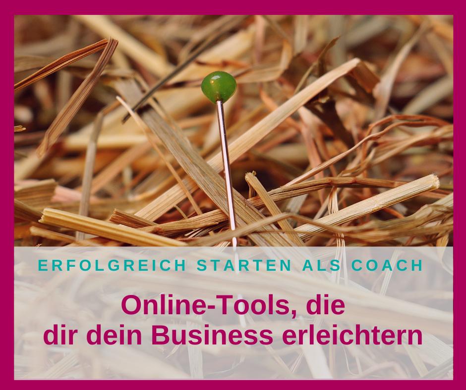 Empfehlenswerte Tools, die dir dein Business erleichtern